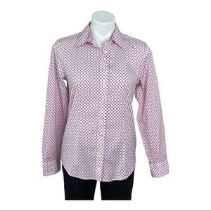 Talbots Wrinkle Resistant Button Down Shirt